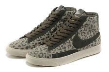 Nike Mujeres Blazer de impresión Zapatos-Verde Leopardo-UK 3.5 - Nuevo