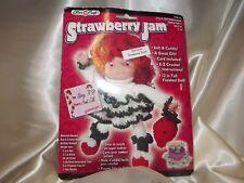 Fibre Craft Strawberry Jam Doll Head Crochet Doll Head New Strawberry Shortcake