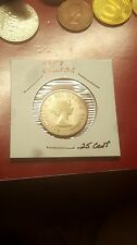 1957~~CANADIAN 25 CENTS~~SILVER~~SCARCE~~CANADA