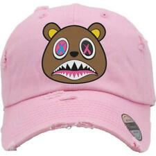6891818787b CRAZY BAWS Light Pink Distressed Dad Hats - Match Sneakers