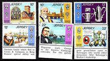 Jersey - 1985 Huguenots - Mi. 360-65 MNH