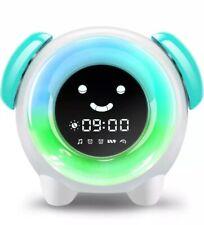 Alarm Clock for Kids Sleep Training Clock with 7 Colors Night Light 6 Alarm R...