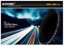 Zomei ® Slim 82mm Variable Nd Filtro Nd2 A Nd400 Densidad Neutra