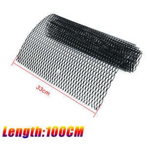"""40""""x13"""" Black Universal Car Body Grille Net Mesh Grill Section Car Accessories"""