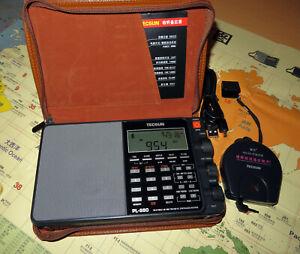 Tecsun PL-880 SSB Weltempfänger 100 kHz - 30 MHz OIRT-Band DX-Radio, KW, MW, LW