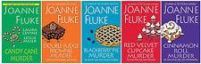 NEW Joanne Fluke HANNAH SWENSEN Series w/ Recipes Books 16-20! Murder She Baked