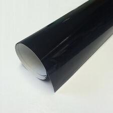 100cm Schwarze Klebefolie - glänzend - Breite 100cm
