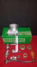 Universal Food Chopper & Meat Grinder No. 2  L.F.& C. NEW BRITAIN CONN USA