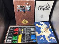 Vintage ! Jeux Descartes Armada Le Jeu des Grandes Conquêtes-1986 - 100% Complet