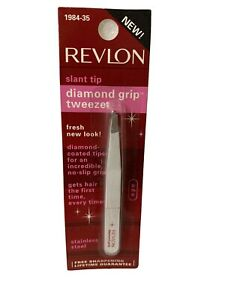 Revlon Diamond Grip Slant Tip Tweezer