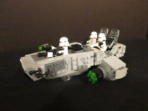 LEGO #75100 First Order Snow Speeder and Minifigs