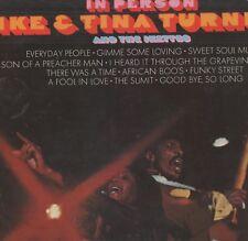 Ike & Tina Turner - 'In Person' 1969 UK Minit LP. VG!
