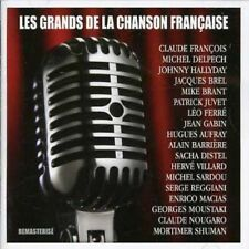 Les Grands de La Chanson Francaise  (Audio CD - 2007) [Import] NEW