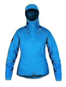 Páramo Seconds Women's Mirada Jacket for walking, cycling, Neon Blue