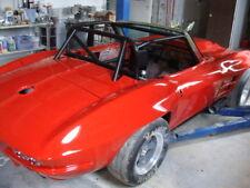 1963-1967 C2 Corvette Rear Quarters -Fiberglass With 1.5 Inch Flare - Pair