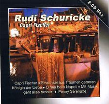 "Rudi Schuricke ""CAPRI pescatori"" 2 CD-BOX 2007 NUOVO & OVP 78rpm Time Music"