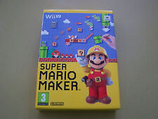 Super Mario Maker  Wii U With Artbook **New**