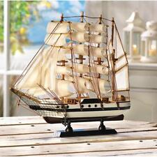 PASSAT large wood SHIP MODEL Sailboat Boat nautical ocean sailing object statue