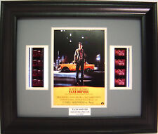 TAXI DRIVER FRAMED MOVIE FILM CELL ROBERT DENIRO