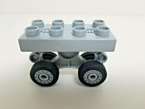 Lego Duplo Airplane landing gear large w 4 wheels 52925c01 7840 7843 5595