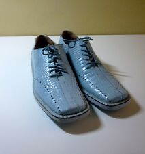 GIORGIO BRUTINI VINTAGE POWDER BLUE CASUAL SHOES NEW-OTHER 10M 657793-1