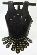 LEATHER ROMAN BREASTPLATE ARMOR - CUIRASS CHEST PLATE - ARMOR - BREASTPLATE