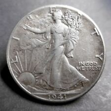ETATS-UNIS , USA - HALF DOLLAR EAGLE 1941 -  Argent
