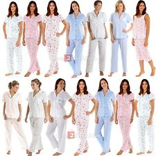 Ladies Womens Short Sleeved Pyjamas suit loungewear PJ's