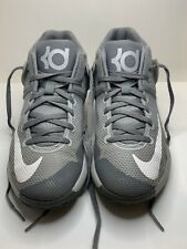 Nike KD Trey 5 Basketball Shoes/High Tops Gray/White Boy's Size: 3Y #847504-011