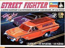 "Revell Monogram 1:24 Años'60 Chevy ""Street Fighter"" Tom Daniel Custom Car Model Kit"