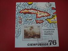 CENTRAL AMERICA - 1976 STAMP EXHIBIT  MINISHEET - UNMOUNTED USED MINIATURE SHEET