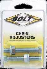 Swingarm Chain Adjuster Bolts Fits Honda Kawasaki Suzuki Yamaha CR CRF KX RM YZ