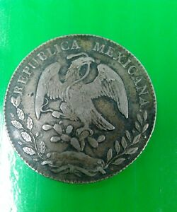 Republica Mexicana 1868 Old Coin