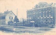 Longwy - la gare et hôtel st-Martin