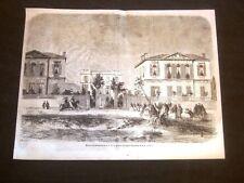 Nizza nel 1858 Casa di piacere Sua Altezza Reale Granduchessa Stéphanie de Bade