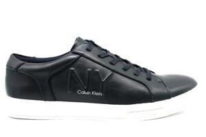 Scarpe da uomo Calvin Klein sneakers casual leggere basse sportive comode pelle