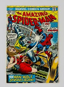 Amazing Spider-man #125 Origin Of The Man-Wolf Bronze Key Grail ASM No Reserve!!