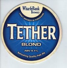 WHARFE BANK BREWERY (POOL IN WHARFEDALE) - TETHER BLOND (2) - PUMP CLIP FRONT