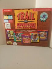 Trail Adventure Collection 1998 Learning Co Big Box Education oregon trail pc