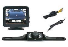 "Aufbau Rückfahrkamera CM322 inkl. 3.5"" Monitor passt bei Fiat Fahrzeuge"