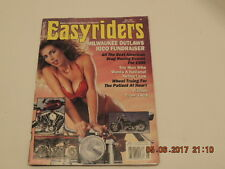 1990 MAY EASYRIDERS MOTORCYCLE  MAGAZINE ~ HARLEY~ CUSTOM ~ DAVID MANN~No.203