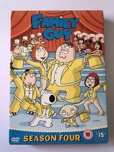 FAMILY GUY SEASON FOUR SET OF 3 DVD BOX SET EPISODES 1-13