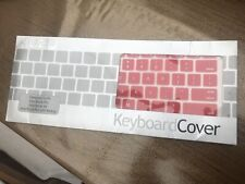 Red Keyboard Cover Fits MacBook Pro And Air *Brand New With Fast Delivery