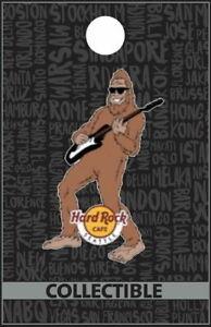 Hard Rock Cafe SEATTLE 2017 Bigfoot Playing Guitar Core City PIN - HRC #94824