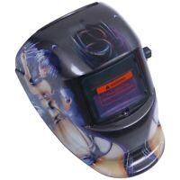 Masque de Soudure Cagoule Casque Soudage Solaire Automatique (Utiliser Ener I5Y5