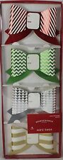 NEW Lot of 12 Wondershop Paper Bow Gift Tags 4 Packs 48 Bows Total
