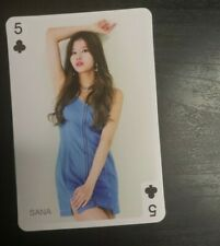 Twice YES OR YES SANA Poker Card Yes! Magazine Official Photocard (Unofficial)