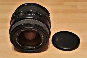 Sigma 35-80mm F4-5.6 DL Autofocus Zoom Lens Canon EOS Fit