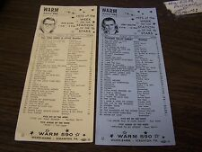 VINTAGE - W.A.R.M. RADIO 590 - HITS OF THE WEEK 8/13/67, 8/27/67, RON ALLEN
