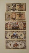 Lot of 5 Million Dollar Bill Fake Funny Money Novelty Notes